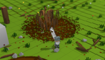 Shattering a tree